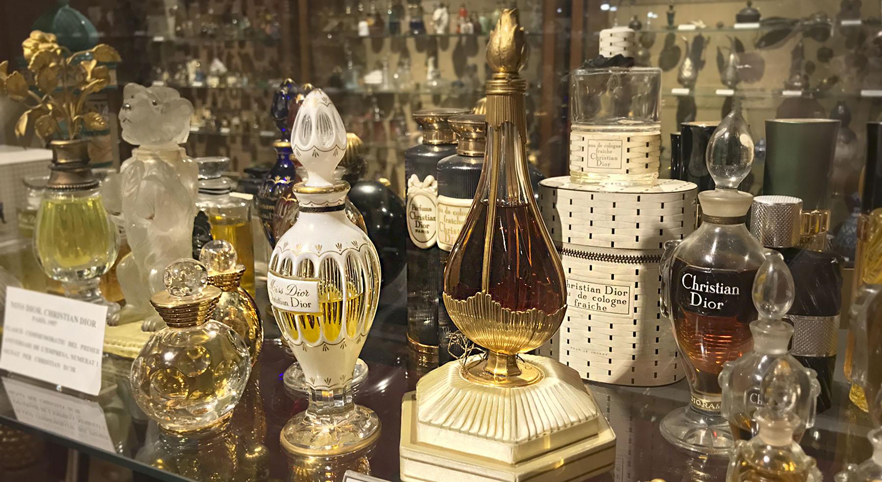 Un Museo del Perfume escondido entre bastidores