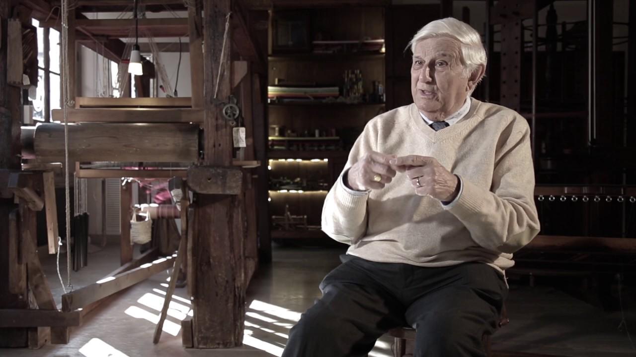 El arte del terciopelo: el último 'velluter' de Valencia